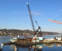 Port of Olympia Maintenance Dredging & Crane Removal