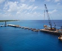 Carnival Cruise Line Puerta Maya Cruise Pier Extension