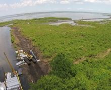 CIAP Lake Leary Marsh Creation