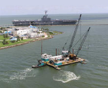 Ship Channel Utility Crossing