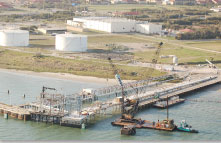 Crude Oil Ship Dock