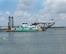 Houston Ship Channel, Emergency Dredging