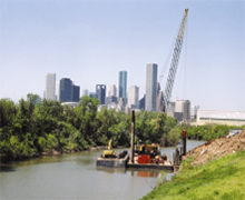 Intake Erosion Protection, Buffalo Bayou