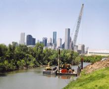 Intake Erosion Protection, Buffalo Bayou
