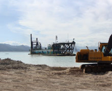 Cruise Ship Pier Dredging