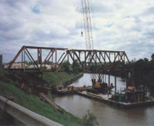 Railroad Bridge Demolition