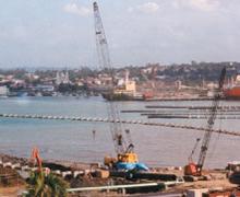 HDPE Pipeline, Atlantic Ocean