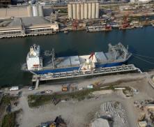 Port Sutton Unloading Dock