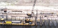 New Wharf Construction
